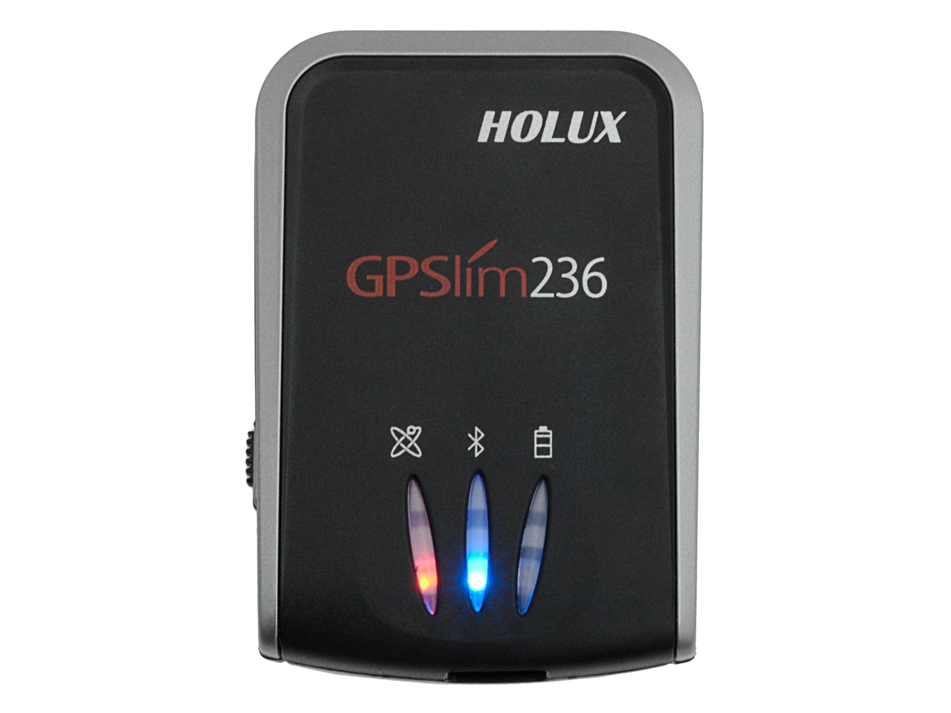 Holux GR-236 / GPSlim 236 - LED Anzeige